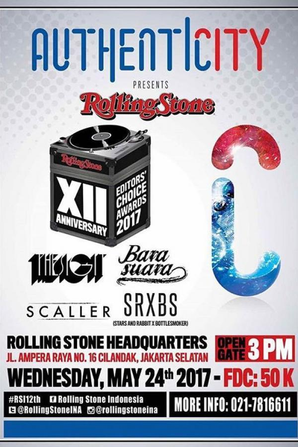 Rolling Stone Indonesia XII Anniversary