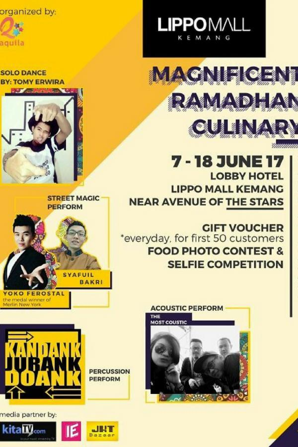Magnificent Ramadhan Culinary