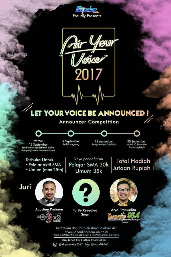 Air Your Voice 2017