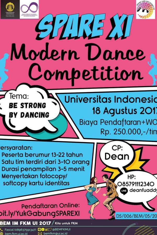 Modern Dance Competition