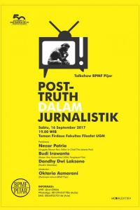 Post-truth dalam Jurnalistik