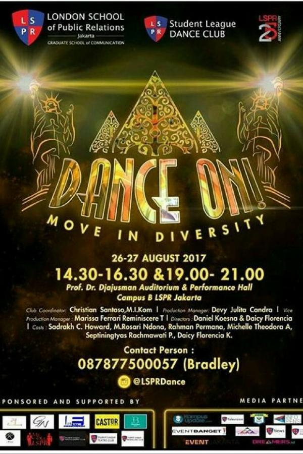 DANCE ON! 3: Move In Diversity
