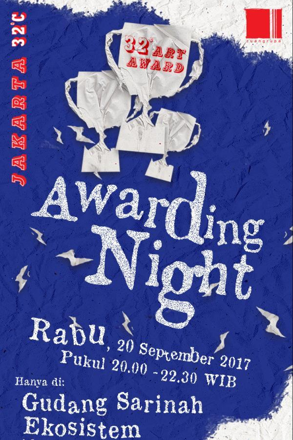 32° Art Award 2017 - Awarding Night
