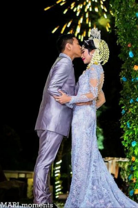 Zenia & Arief Traditional Outdoor Wedding