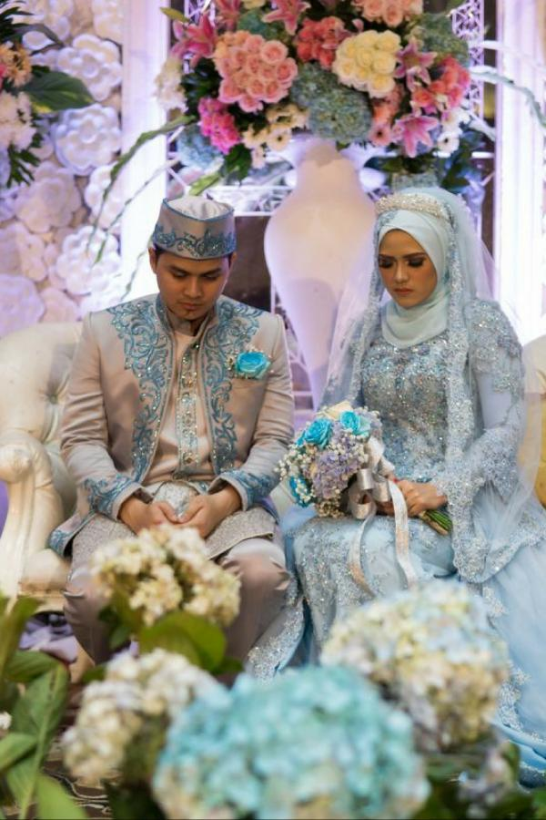 Intan & Dito in Fairytale Wedding Concept