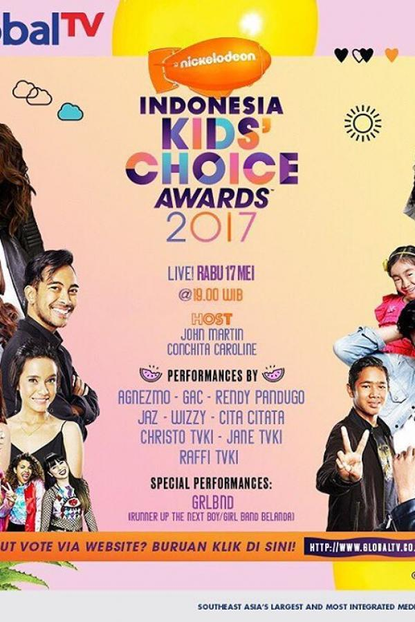 Indonesia Kids Choice Awards 2017