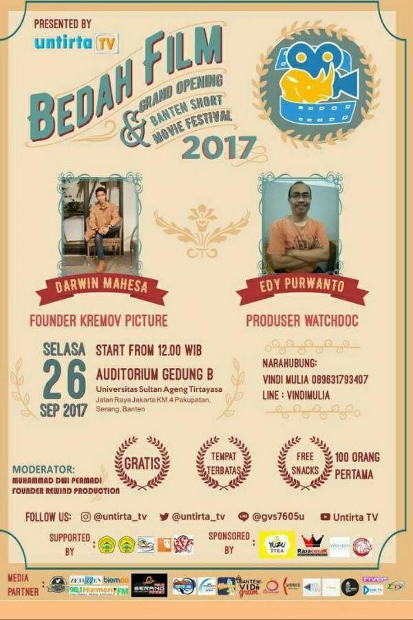 Bedah Film Banten Short Movie Festival (BSMF) 2017