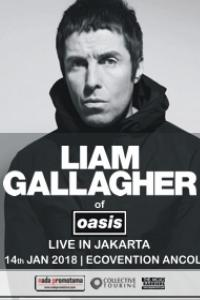 Liam Gallagher of Oasis Live in Jakarta: Liam Gallagher