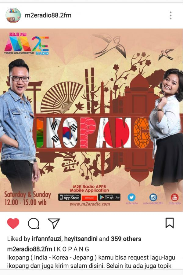 IKOPANG on M2e Radio