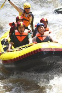 Exciting Rafting in Batu City