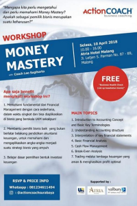 Workshop Money Mastery Malang