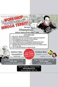 WORKSHOP BIKIN KOMIK ISLAMI