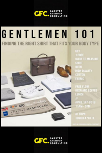 GENTLEMEN 101: How To Find The Right Shirt That Fits Your Body Type