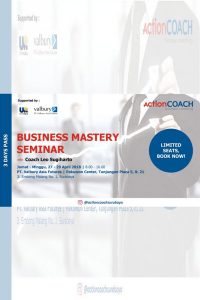 Business Mastery Seminar with Coach Leo Sugiharto