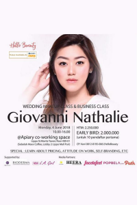 Wedding Makeup Class with Giovanni Nathalie