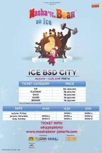 Masha & The Bear on Ice
