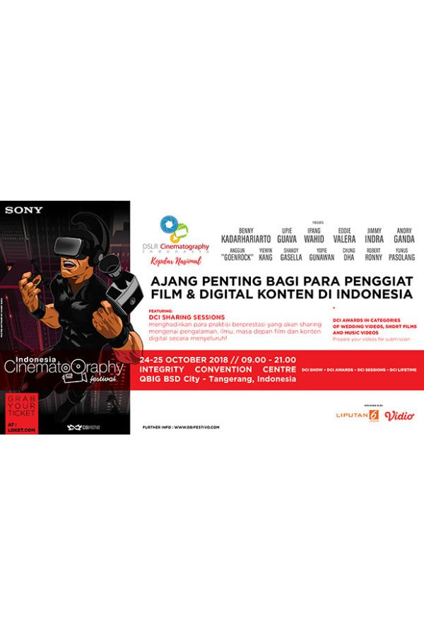 Indonesia Cinematography Festival 2018