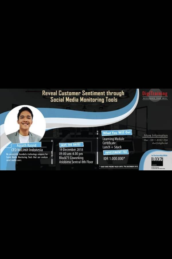 Reveal Customer Sentiment through Social Media Monitoring Tools