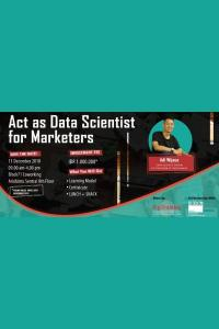 Act as Data Scientist for Marketers