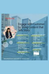 Engage with Customer by Using Content that Tells Story