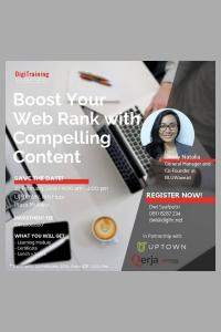Boost Your Web Rank with Compelling Content (2nd Batch)
