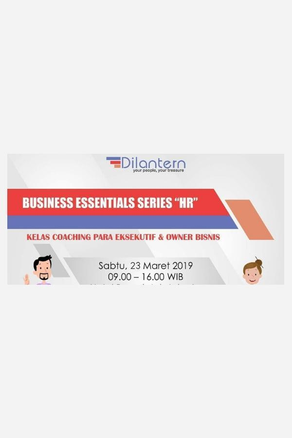 BUSINESS ESSENTIALS SERIES - HR