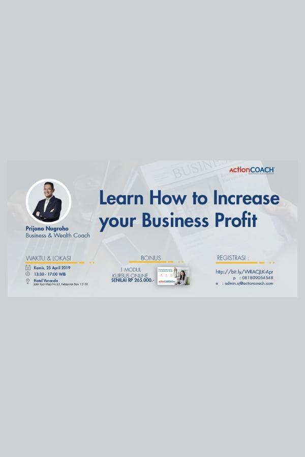 Learn How to Increase your Business Profit