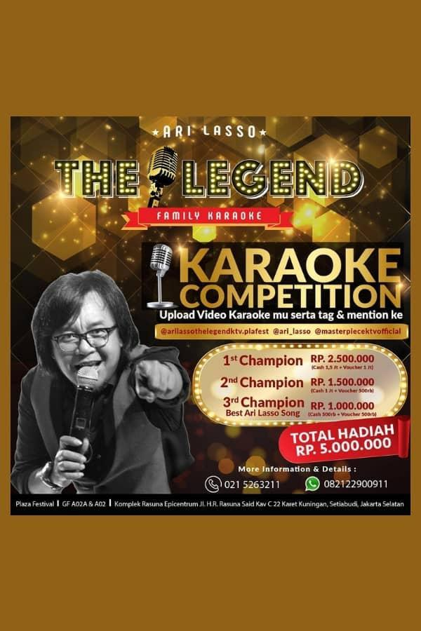 KARAOKE INSTAGRAM CONTEST BY ARI LASSO THE LEGEND _ FAMILY KARAOKE