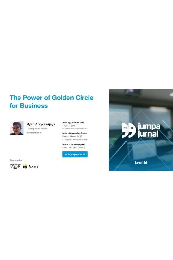 Jumpa Jurnal: The Power of Golden Circle for Business