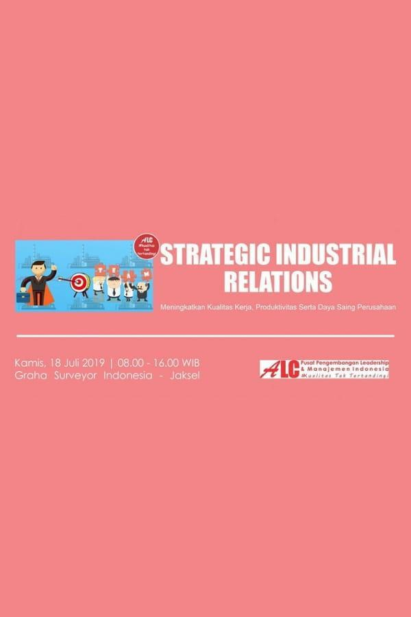 Strategic Industrial Relations