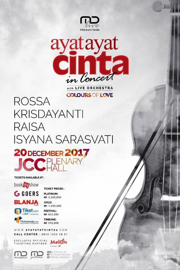 Ayat - Ayat Cinta In Concert with Live Orchestra