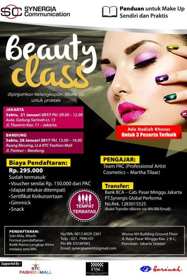 Beauty Class – Make Up Trendy PAC