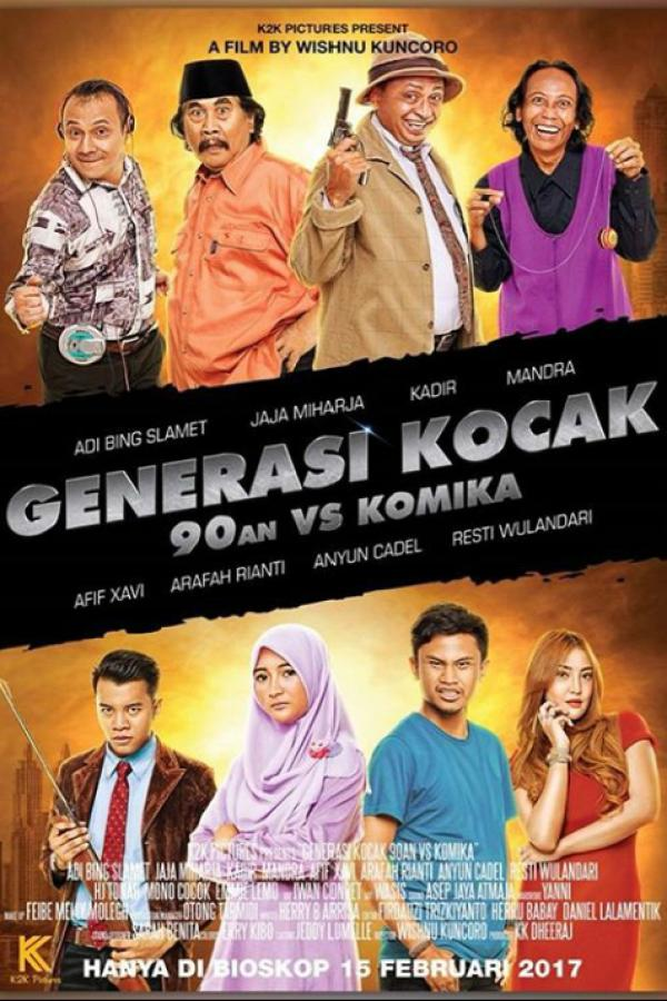 Generasi kocak : 90an vs Komika Movie