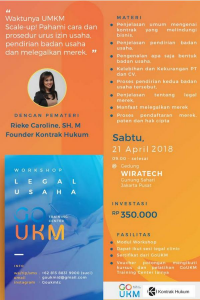 Workshop Legal Usaha