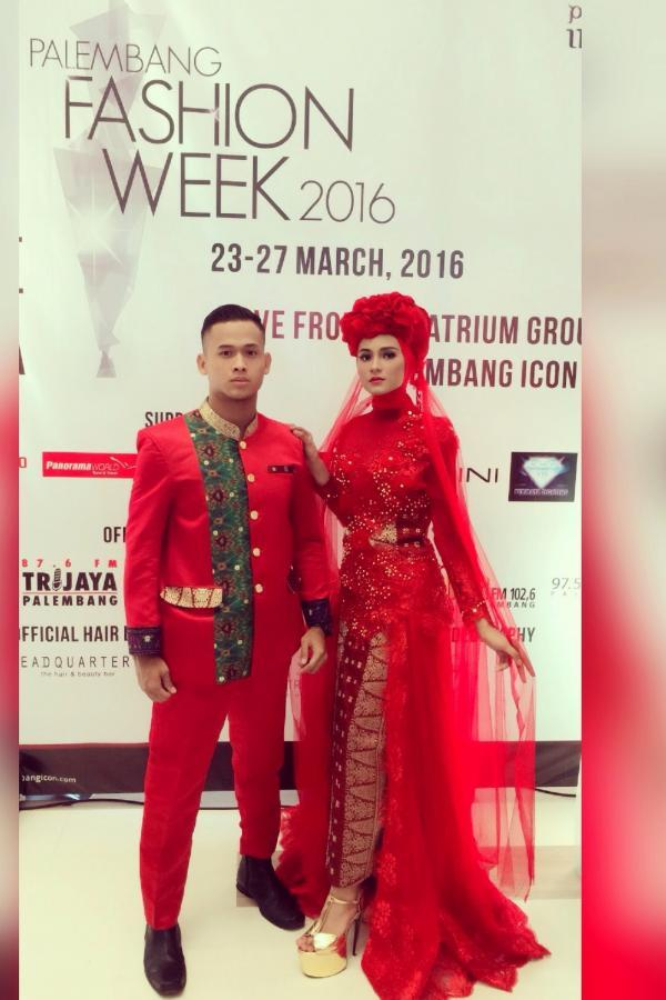 Catwalk palembang fashion week