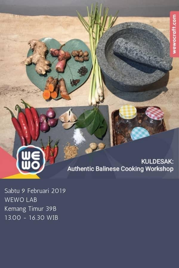 Authentic Balinese Cooking Workshop