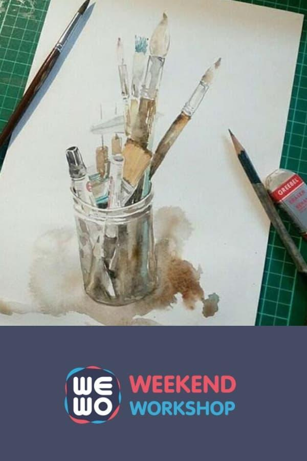 BASIC WATERCOLOR WORKSHOP PACKAGE