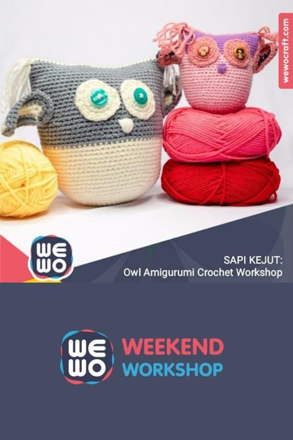 OWL AMIGURUMI WORKSHOP
