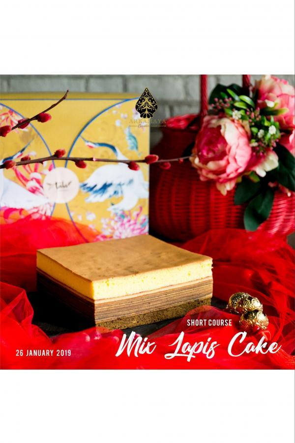 MIX LAPIS CAKE SHORT COURSE