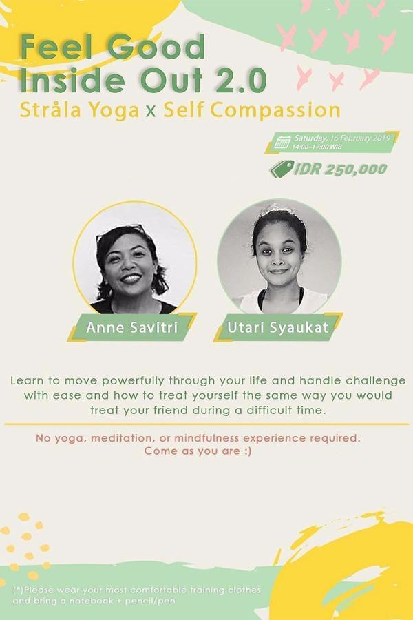 Feel Good Inside Out 2.0: Stråla Yoga x Self-Compassion Special Workshop
