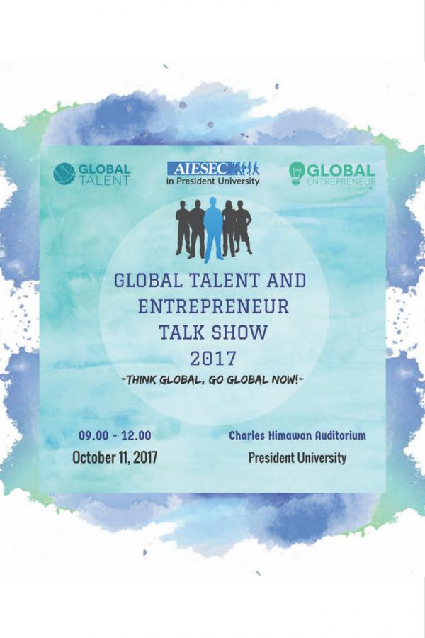 Global Talent And Entrepreneur Talkshow 2017